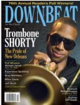 Trombone Shorty covers Downbeat