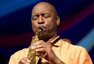 Branford Marsalis performs  at the 2014 New Orleans Jazz & Heritage Festival. (Photo: Erika Goldring)